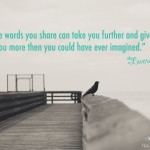 The Words…