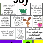 12 Days of Joy: Days 8 and 9