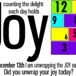 12 Days of Joy: Day 1