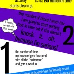 Cleaning By The Numbers