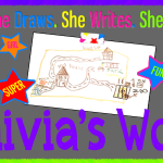 Olivia's World #1: The Stair Stomping Monster