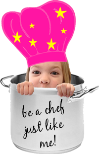 Francine Cooks...be a chef just like me!