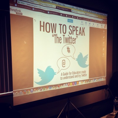 How To Speak The Twitter #ICE14 Session