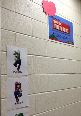Gamification: Super Mario Brothers Wall