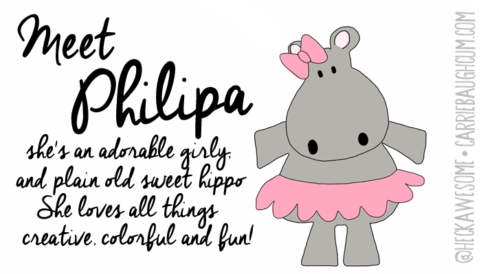 Meet Philipa By Carrie Baughcum