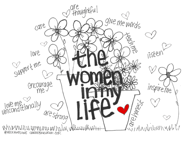 The Women In My Life By Carrie Baughcum