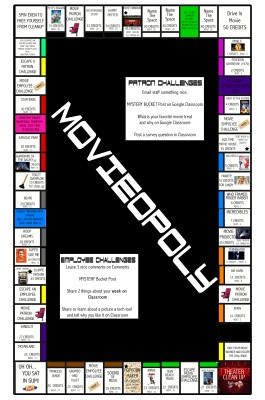 Movieopoly Designed By Carrie Baughcum