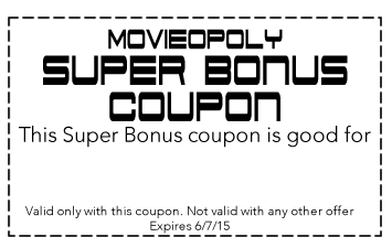 Random Bonus Example- Coupon
