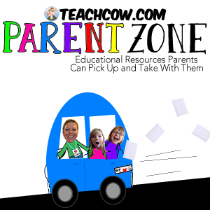 Teach Cow Parent Zone Button