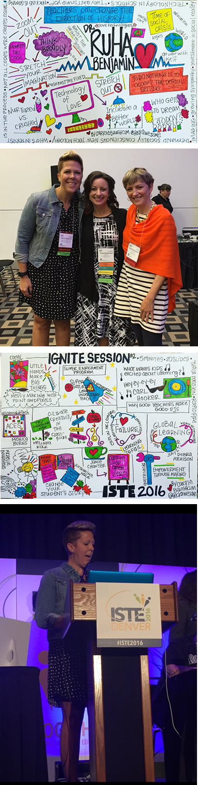 ISTE 2016 Moment
